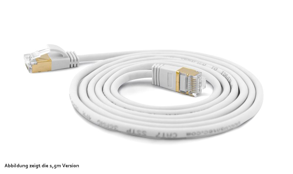 wantec wantecwire extra d nnes rundes sstp patchkabel mit cat7 kabel stecker cat6a d 4mm. Black Bedroom Furniture Sets. Home Design Ideas