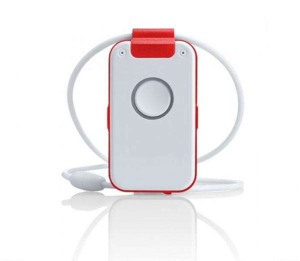 wX32 DECT Emergency Call Pendant – red